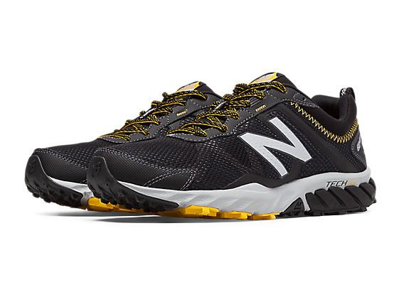 New Balance Men's Trail Running Shoes - Black/Yellow
