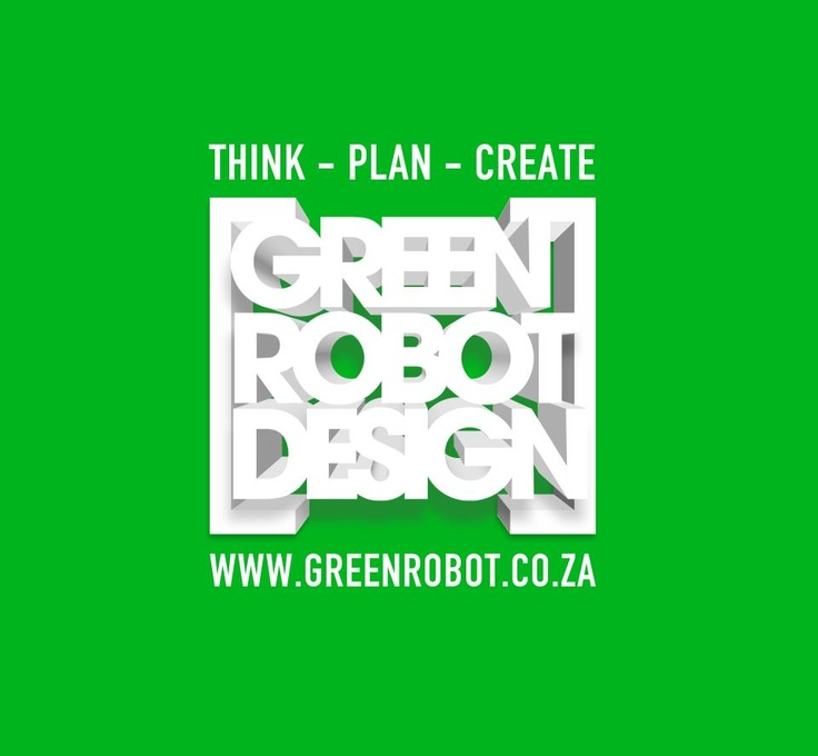 Green Robot Design logo