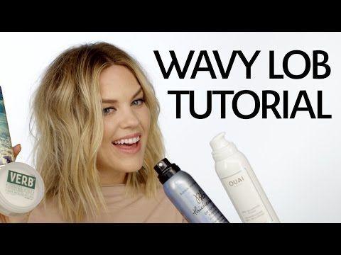 Hair Tutorial: Wavy Lob | Sephora + Mane Addicts - YouTube