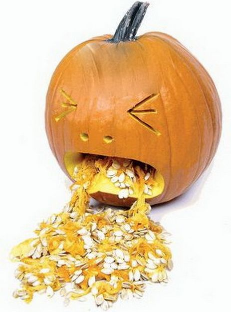 Best puking pumpkin ideas on pinterest halloween