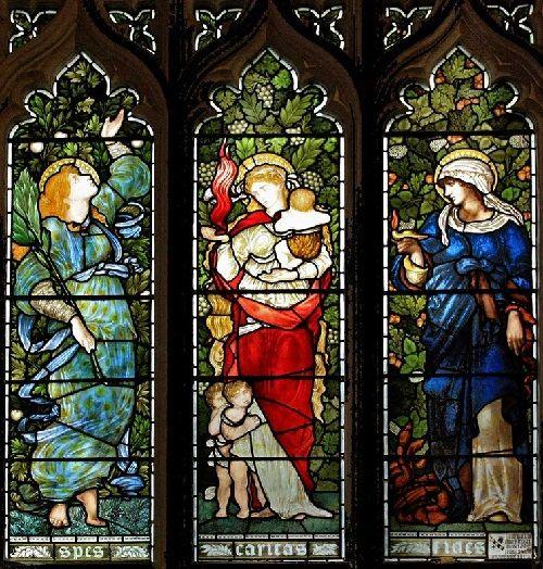 Stained glass windows by Edward Burne-Jones - Art Kaleidoscope