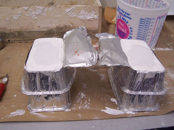 Excellent detailed Tutorial explaining How to make casting molds of anything!