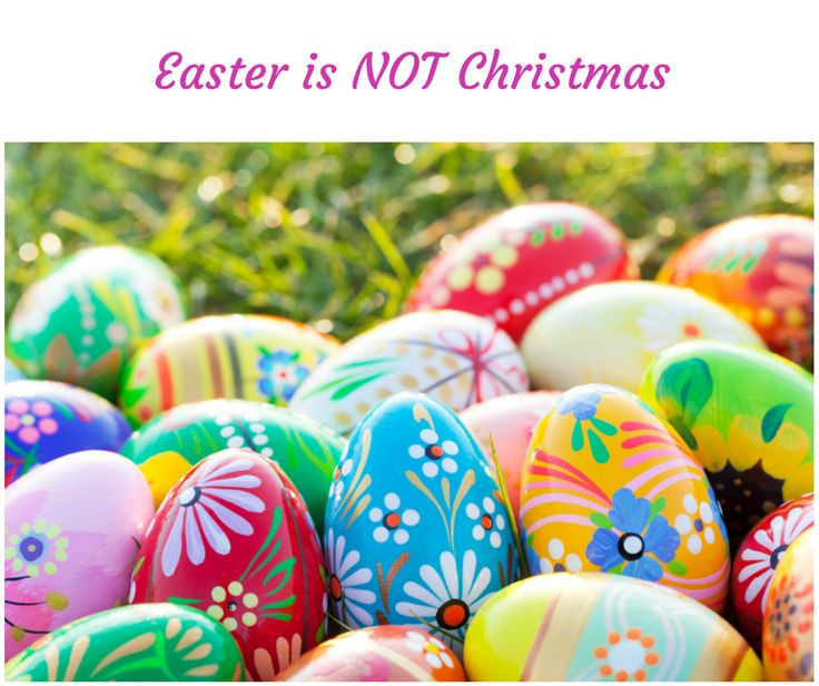 187 best easter images on pinterest easter recipes easter eggs easter is not a second christmas and as parents we tend to go overboard and need to remember easter is not christmas yes negle Image collections