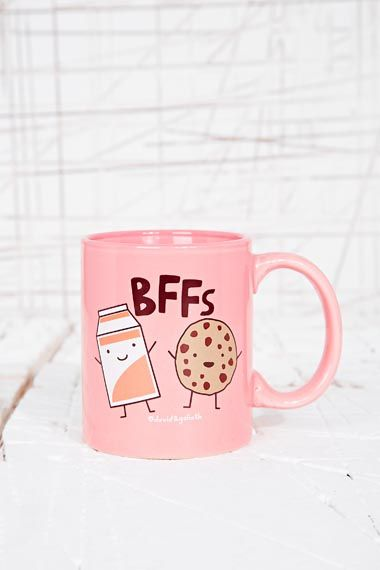 BFFs Mug at Urban Outfitters. Need this for my BFF @Hazel Christopher x