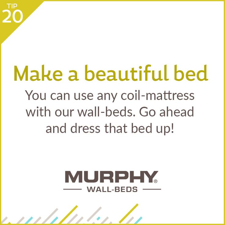 Worried a wall-bed will stifle style in your sleeping area? Worry not! Our European-engineered frames accommodate mattresses from single to king size - so you CAN make a beautiful bed!