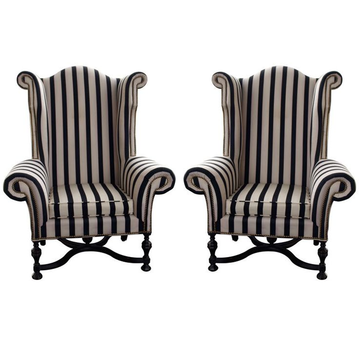 very tim burton...*would put jack & sally cushions on these?;)*...a bit OTT,but the backs could be red so I wouldn't get bored...?:D