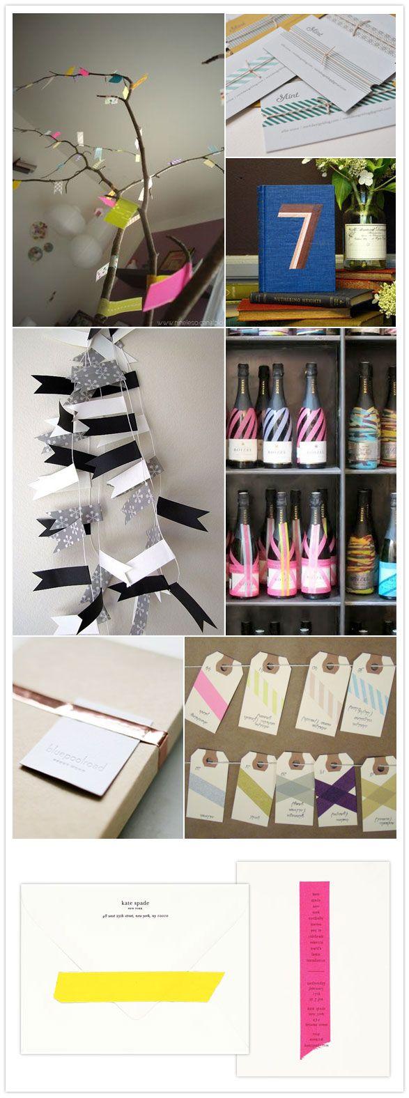 Nice decor ideas: Decor Ideas, Crafts Ideas, Masks Tape Decor, Fun Ideas, Tape Ideas, Washi Washi, Washi Tape, Tape Inspiration, Masks Tape Crafts