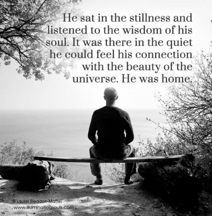 Listen to the wisdom of your soul....