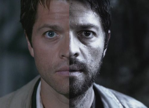 I see a bunch of these for Dean and Sam but Cas has changed so much too..he's less confident and sure, he looks so vulnerable, yet tougher than when he first was introduced. He's realized that the more he learns about humans and doubt, the less he's certain of knowing.