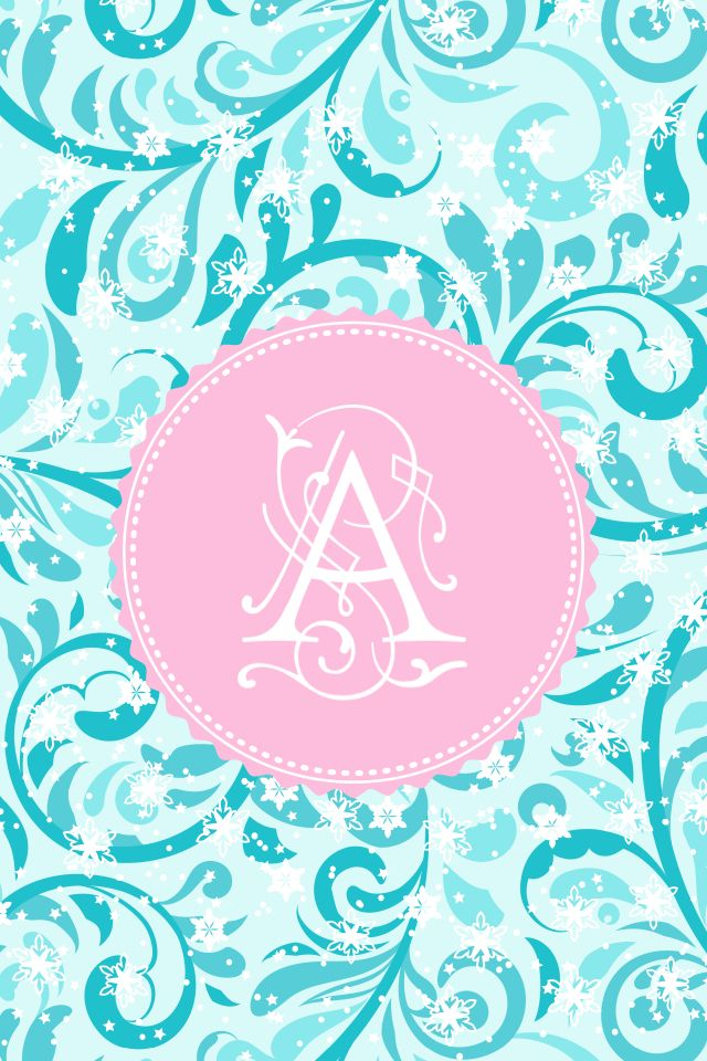 monogram wallpaper by me the letter a ipadcelular
