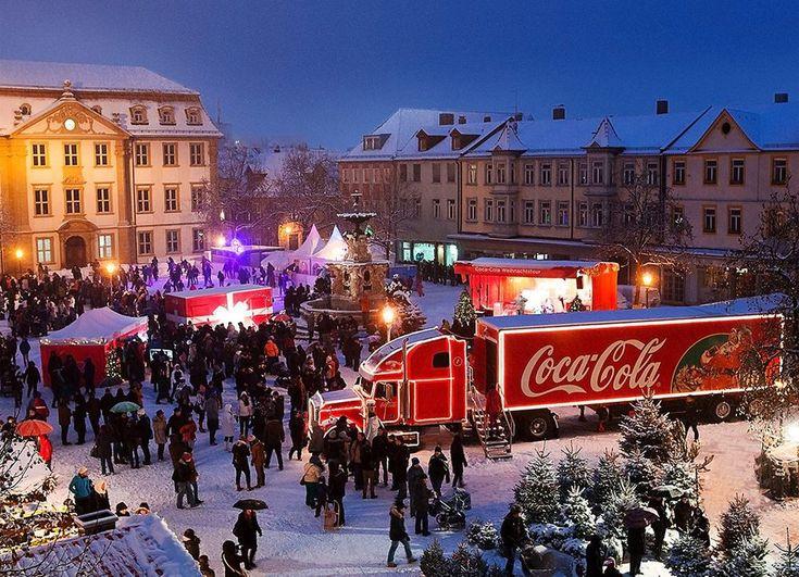 coca cola weihnachtstruck 2016 | ... Weihnachtsevents: Der Coca-Cola Weihnachtstruck › Event Partner