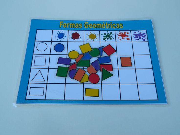 Tablero de clasificación según forma y color