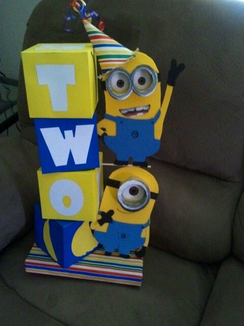 Minion centerpiece