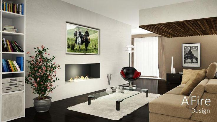 Televisore e bruciatore-bioetanolo-intelligente-telecomandato http://www.a-fireplace.com/it/bruciatore-etanolo/