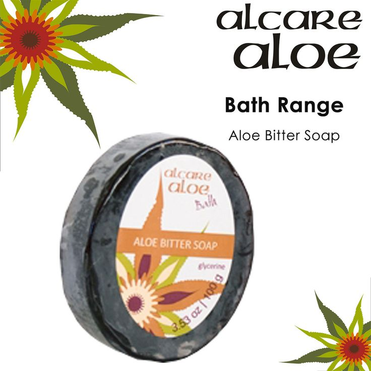Aloe Bitter Soap (Glycerine).  Glycerine based with added bitter juice. Aloe ferox is harvested in the wild in an ecologically friendly way.  Order online: http://on.fb.me/1fJVdeb #bath #aloe #soap