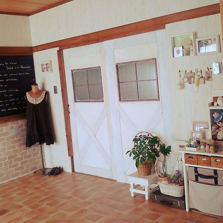 ふすまリメイク/和室を洋室へ…などのインテリア実例 - 2016-05-07 15 ... 次の部屋写真