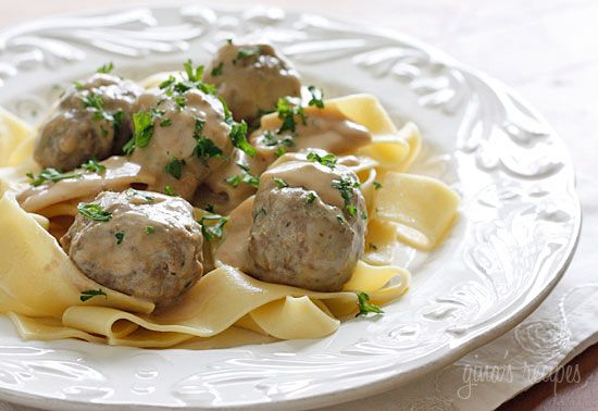 Swedish Meatballs   Skinnytaste