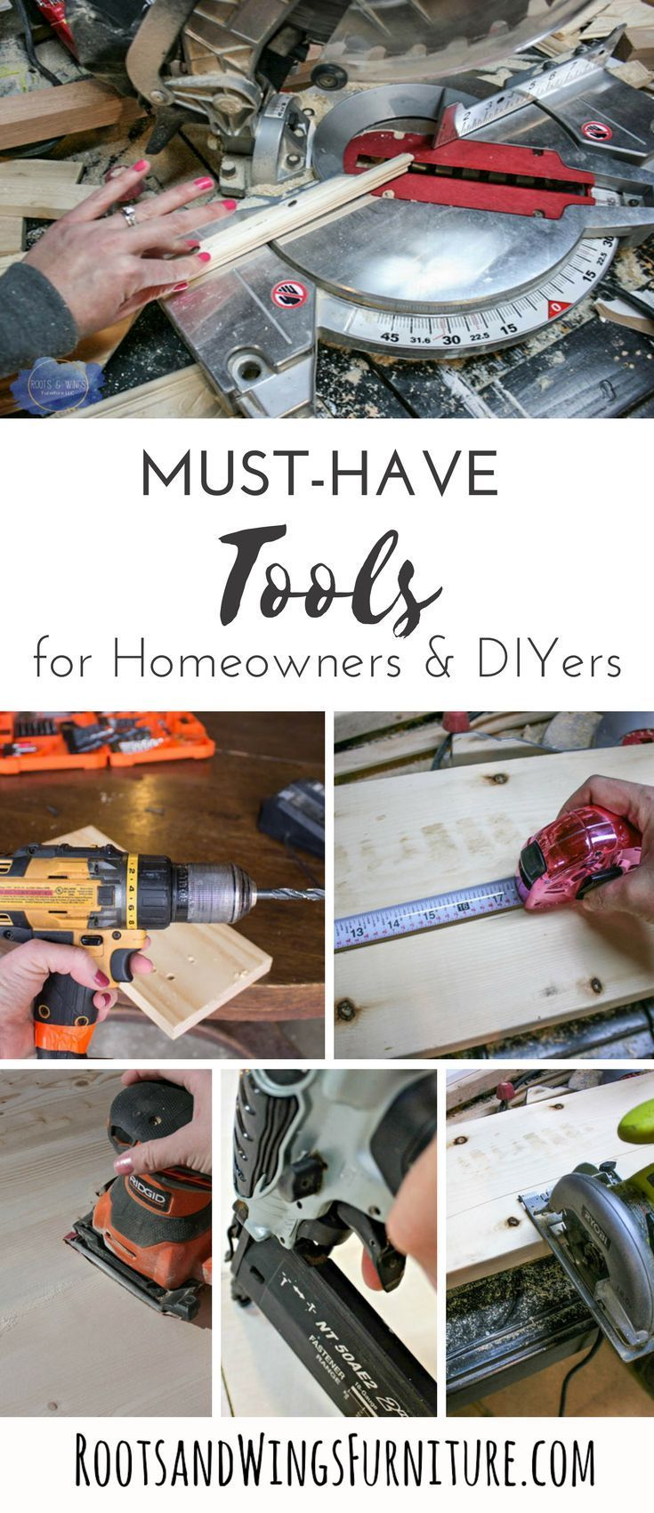 must-have tools for homeowners & diyers (and a few tools you