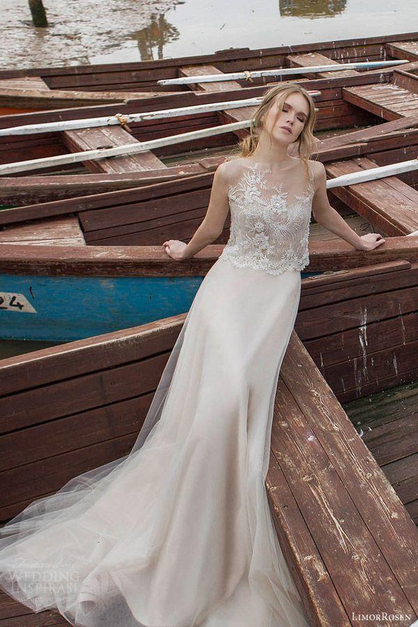 60 swoon worthy beach wedding dresses new boho beach for Flowing beach wedding dresses