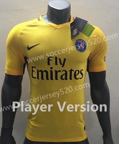 camiseta psg amarilla barata