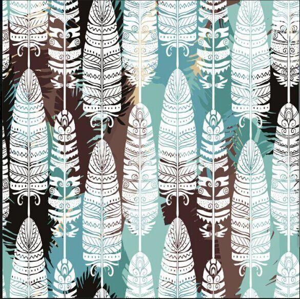 2017 New Chiffon Fabric Christmas Series Fashion Design Material Patchwork Tissu Telas Tecidos Tulle Digital Print