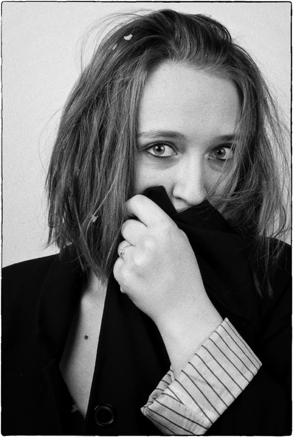 Mustached mag - Photography ' Une fille au masculin ' by Elodie Hubert, via Behance