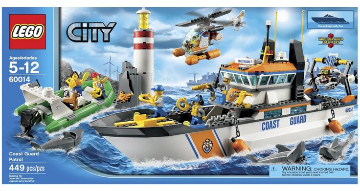 LEGO Coast Guard Patrol Discounted Down to $64.76 Down From $80