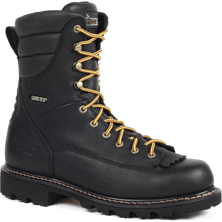 Rocky Great Oak Low-Heel Logger – Waterproof Composite Toe Leather Work Boots for Men – Style #6427