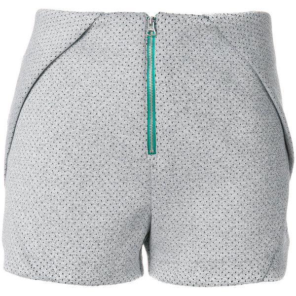 Adidas Originals EQT shorts ($71) ❤ liked on Polyvore featuring activewear, activewear shorts, grey, retro sportswear, adidas, adidas sportswear and adidas activewear