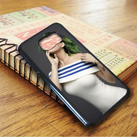 Katty Perry Green Hair Samsung Galaxy S7 Case