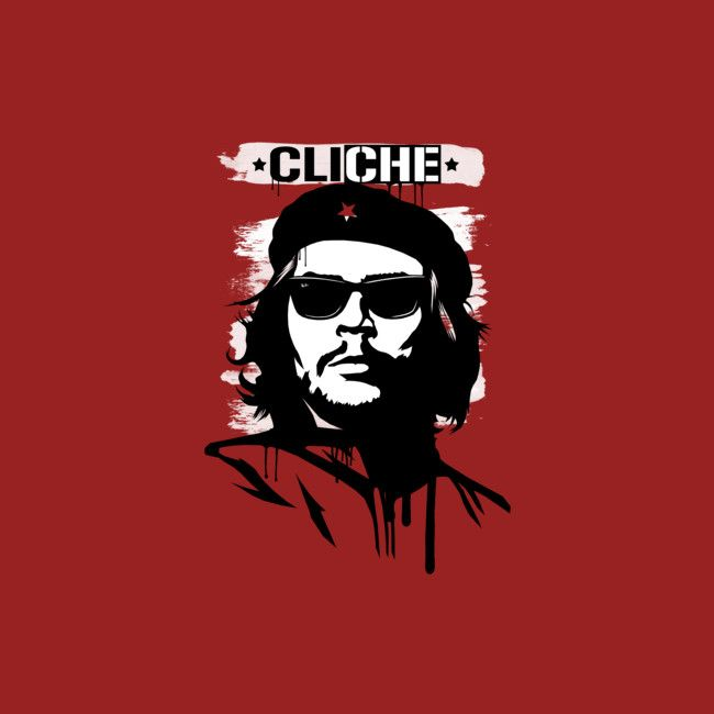 Cheeky play on the ultra cliche revolution shirts featuring communist badboy Che Guevara #che #funny #shirt #design #art #illustration #design