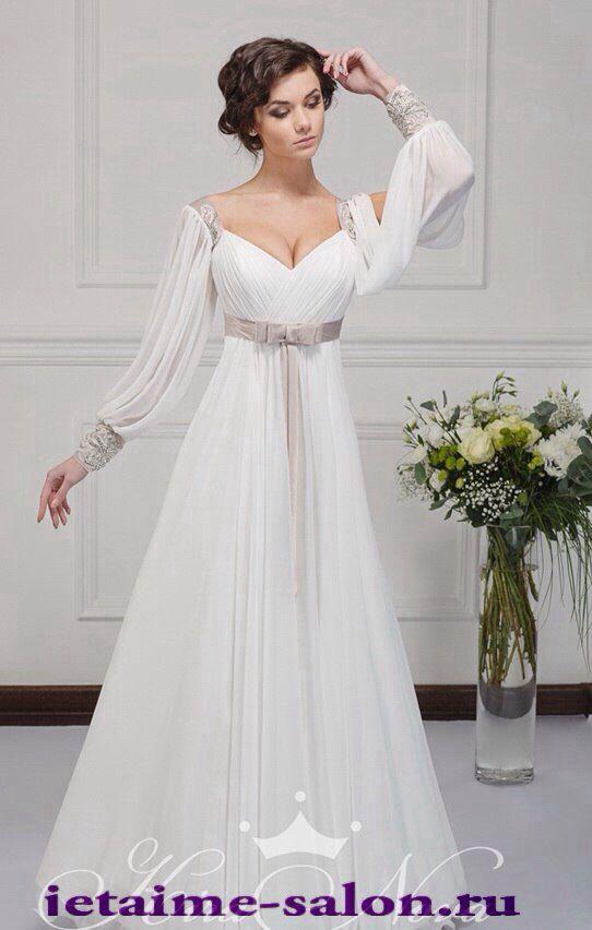 Платье для обычной росписи в ЗАГСе