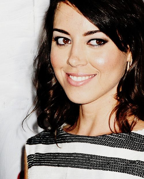 Aubrey Plaza at the 22nd  Annual GLAAD Media Awards on April 10,  2011.