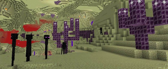 This is a great dimension you should enjoy in Minecraft. At present, it is designed for the PC version. However, the game is suitable for Minecraft Pocket Edition. You can use this map to come to the End. Overcome an End portal before accessing this area. It is very close to the End. Founded by:... https://mcpebox.com/end-stronghold-creation-map-minecraft-pe/