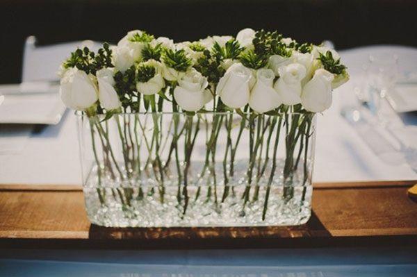 Idées pour une centre de table champetre - J'ai dit oui