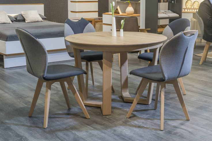 You're welcome to sit down. Design by Klose. #DinningRoomFurniture #KloseFurniture #WoodenTable