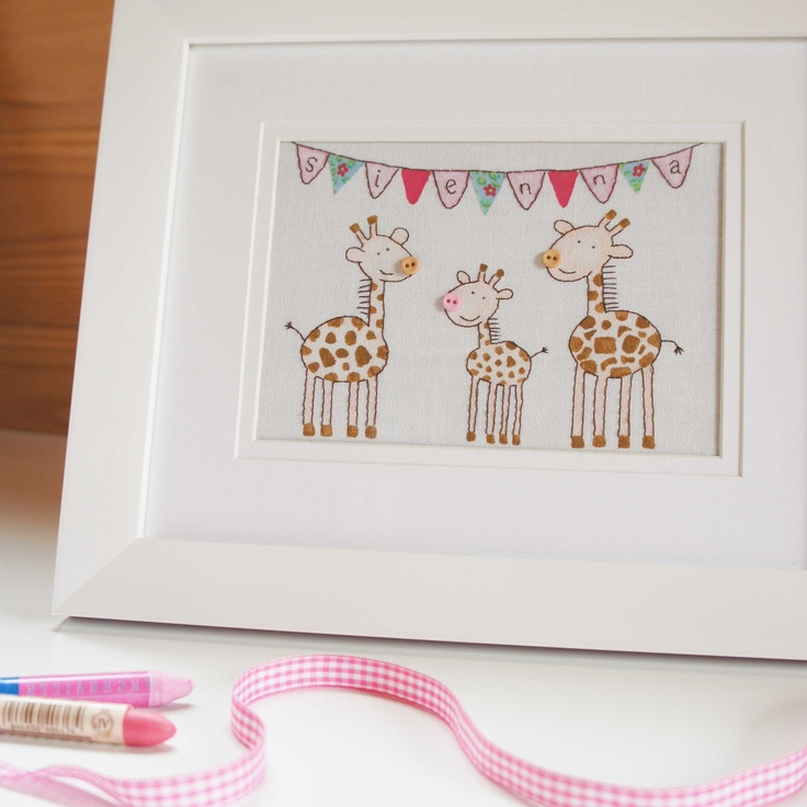 Original artwork - hand drawn, hand painted and hand stitched onto fabric http://ooakly.blogspot.com.au