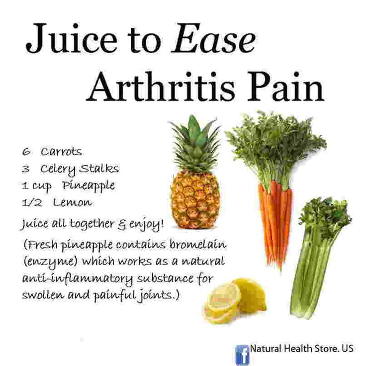 Delicious juice recipe to get relief from Arthritis Pain.