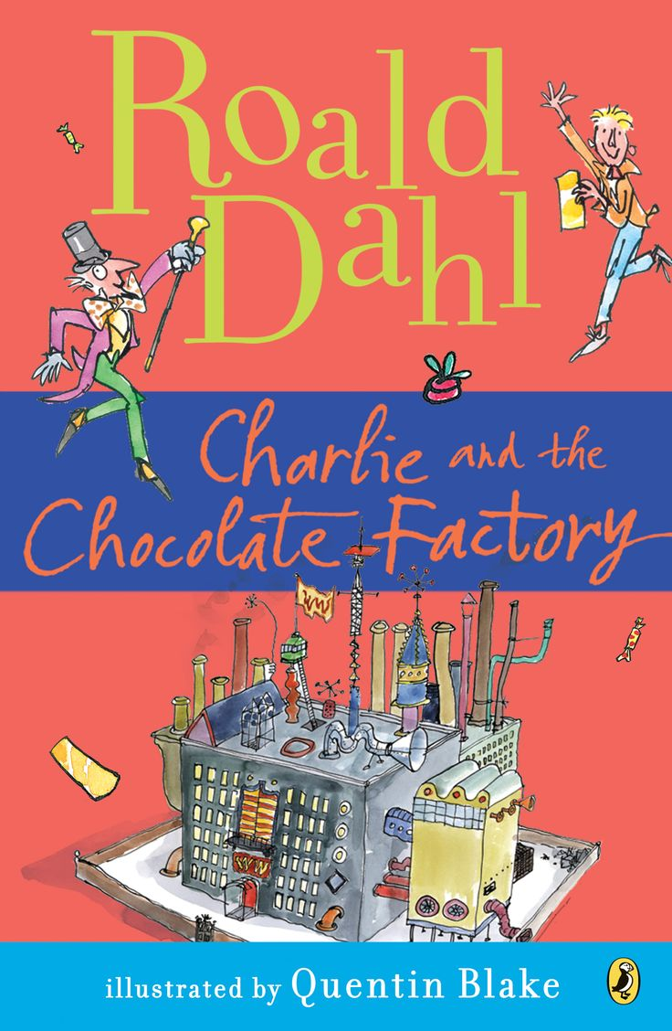 Charlie and the Chocolate Factory by Roald Dahl, one of the all time great children's book writers. #ReachOutReadCO