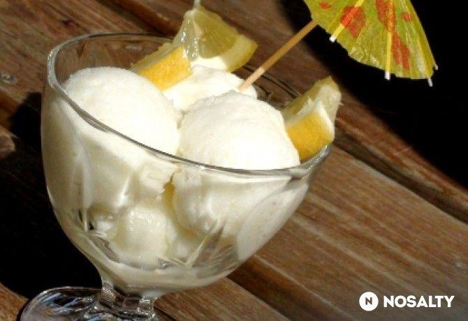 Citromfagyi fagylaltgép nélkül