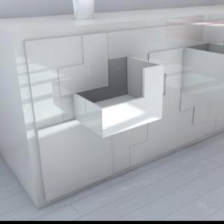Deze Tetris kast is een concept van Pedro Machado en bestaat uit 26 laden. Verder kun je er een tafel en 2 stoelen uitschuiven om samen een potje Tetris te spelen