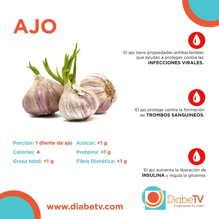 EL AJO: CONDIMENTO PERFECTO .-ajo y dieta para diabeticos