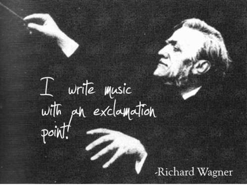 Richard Wagner  #music #quote