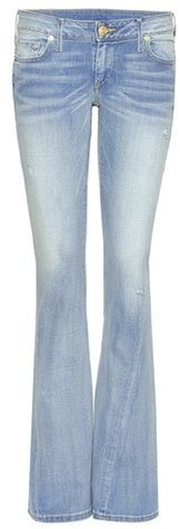 True Religion Joey Low-rise Flared Jeans