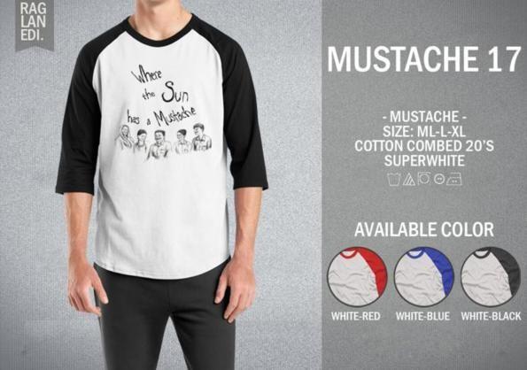 Raglan Mustache 17