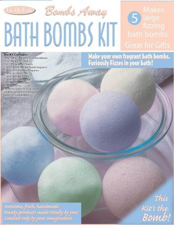 Bath Bomb Kit - Bath Fizzie Kit - Learn to Make Bath Bombs - The Soap Making Store