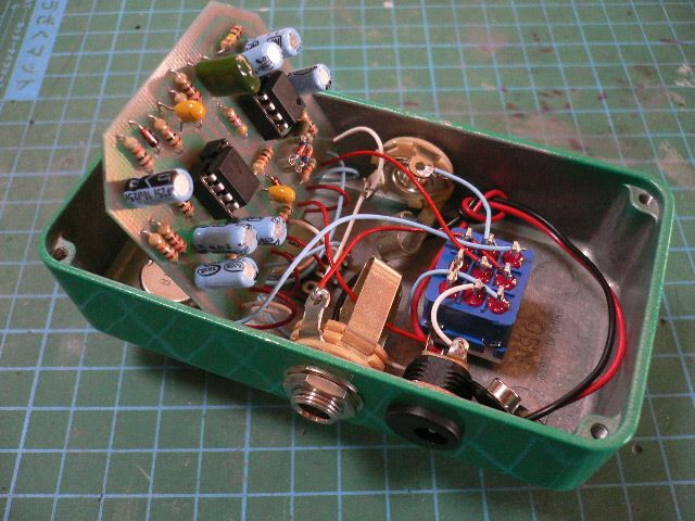 124 best images about guitar pedals effects pedals maxon od 808 製作記 素人工作員さん ギタームエフェクターの自作