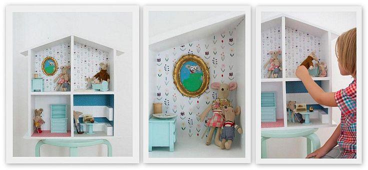 Domek dla lalek myszki