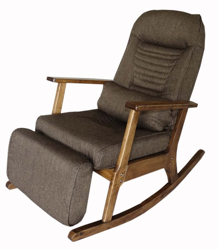 199.00$  Buy here - http://alivvp.worldwells.pw/go.php?t=32321823195 - Garden Recliner For Elderly People Japanese Style ArmChair with Footstool Armrest Modern Indoor Wooden Rocking Chair Leg Wood