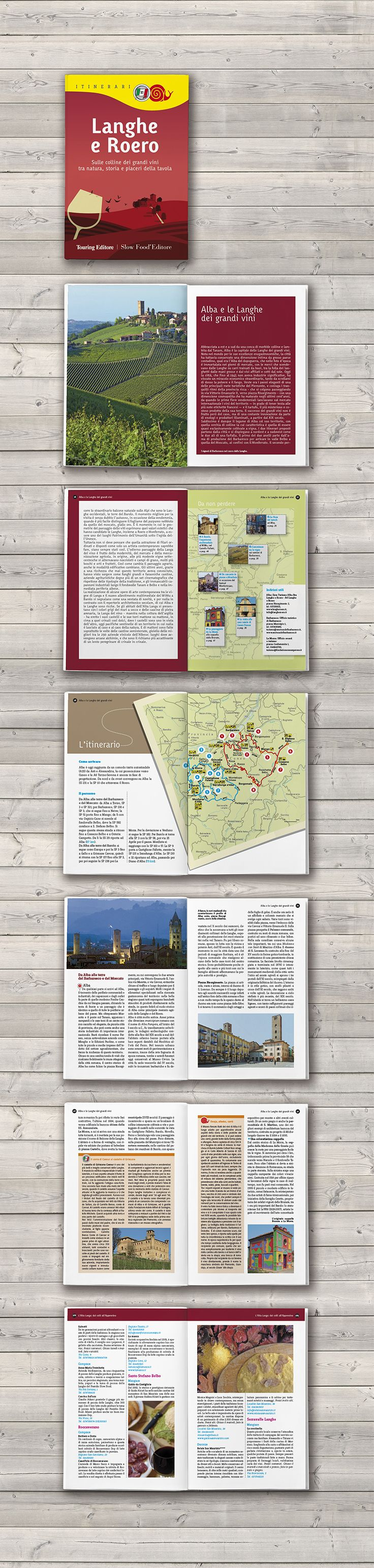 Cover and book design / Tourist guide / Touring Editore - SlowFood Editore